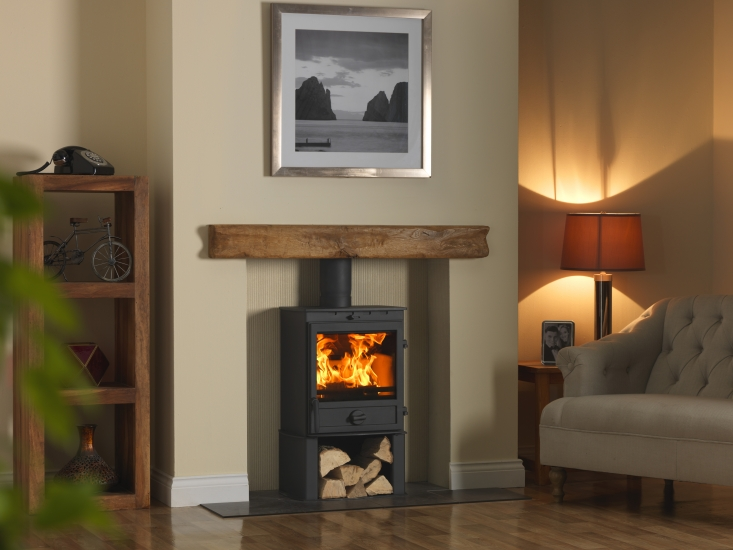 8kW Multi Fuel Stove