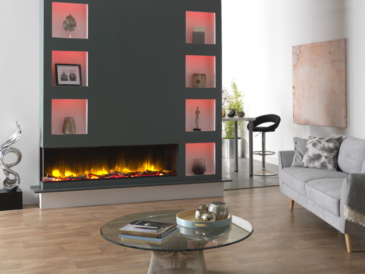 3D Electric Fire